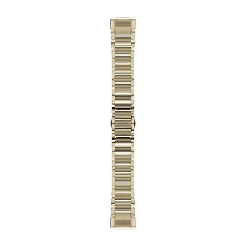 Garmin 010-12491-17 Fenix 5S Quick fit 20 Watch Band - Champagne Stainless Steel