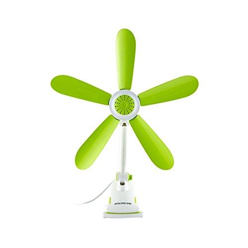 KTYX Office Bed With Breeze Mini Fan 5 Leaves Silent Clip Fan fan by KTYX