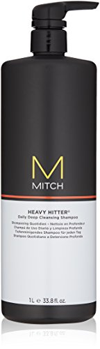 - MITCH Heavy Hitter Deep Cleansing Shampoo