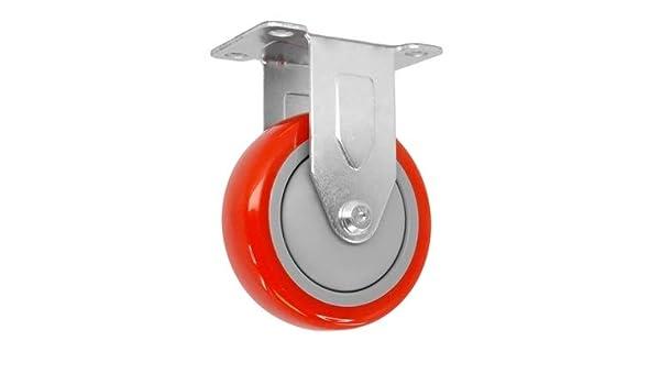 3//4 Expanding STEM CasterHQ POLYOLEFIN Wheel 300 LBS Capacity 3 X 1-1//4 Swivel Caster