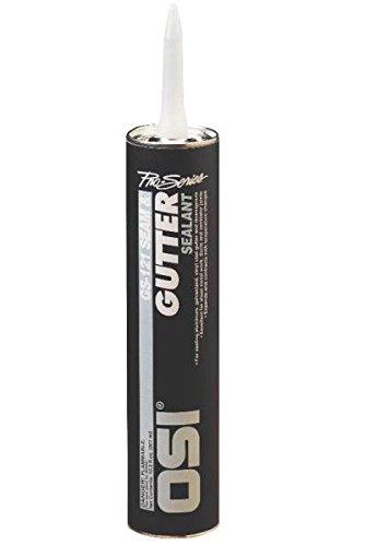 Henkel 1939849 Pro Series Gutter Sealant, 10 oz, Aluminum (Pack of 12)