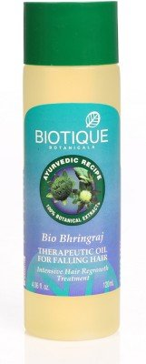 Biotique Bio Bhringraj Therapeutic Oil Hair Oil  120 Ml