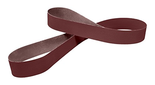 3M 25635 Cloth Belt 341D, 4'' x 132'' P120 X-weight, Cloth Backing, Aluminum Oxide Abrasive Grit, 4'' width, 132'' Length, (Pack of 50) by 3M