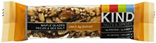 product image for Kind Nuts and Spices Maple Glazed Bar, Pecan and Sea Salt, 12 Count (Pack of 12)