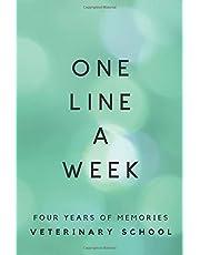 One Line A Week: Four Years of Memories Veterinary School: Vet School Memory Book