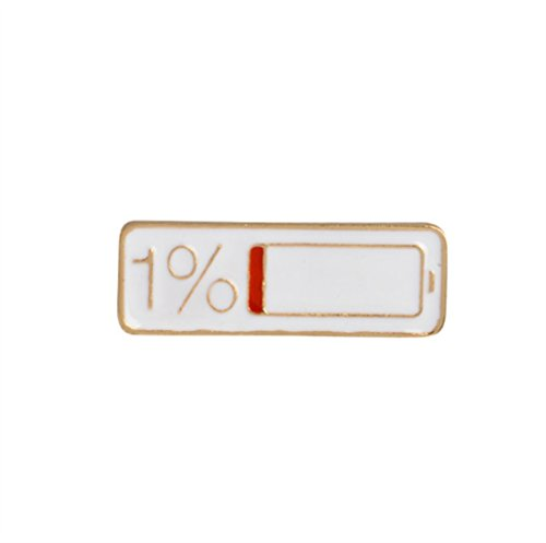- KEANER Fashion Women's Accessory Cute Badges Power Strip Shape Brooches Button Badge Clothes Accessories(Colorful)