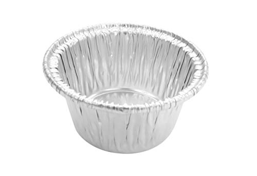 Disposable Aluminum Individual 2 Oz Foil Cups-Souffle Cups-ramekins. #S220 (1000)