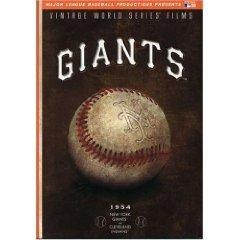 New York Giants 1954 Vintage World Series Films