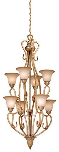 Vhomes Light Berkeley 8L Chandelier Corinthian Patina