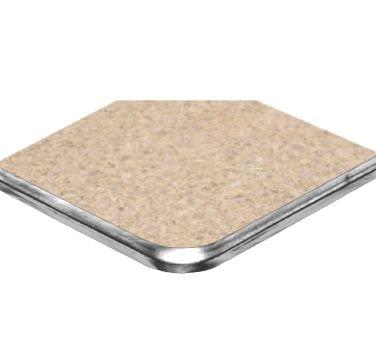 Standard Wilsonart Laminate (American Tables & Seating ATS60-CH Vinyl T-Molding Laminate Round Table Top, Polyethylene T-Mold Edge, Standard Wilsonart Laminate, 60