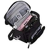G-HUB Travel bag with Shoulder Strap, Carry Handle, Belt Loop for Nintendo DS Consoles DS / 3DS / DS Lite / 3DS XL / DSi - Black