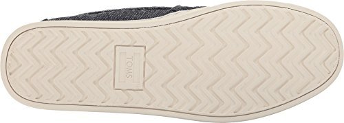 TOMS Men's Aiden Navy Two-Tone Woven Oxford