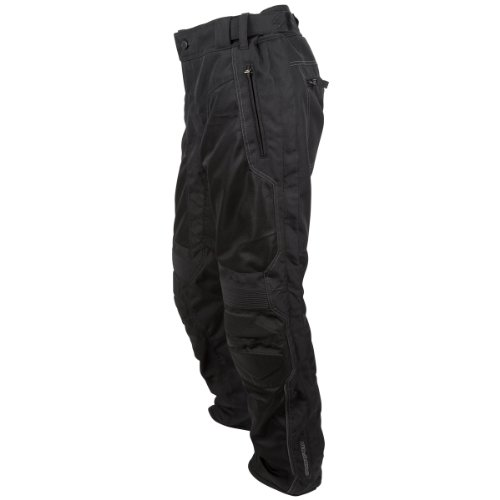 ScorpionExo Trey Men's Textile Motorcycle Pants (Black, XXX-Large)