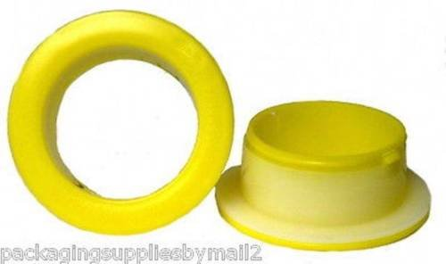 Hand Saver Plastic Yellow Color Dispenser Stretch Wrap Film - 1 Pair