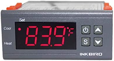 Inkbird ITC-1000 Dual Stage Digital Temperature Controller Fahrenheit and Celsiu