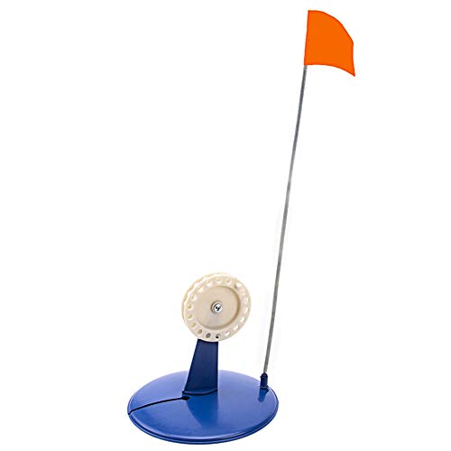 HEART SPEAKER Portable Ice Fishing Rod Reel Plastic Tip-Up Pole Cover Flag Base Accessory ()