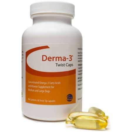 - Derma3 Twist Caps for Large Dogs (60 TwistTips Capsules)