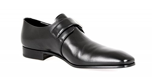 Prada Men's 2OA011 Black Leather Business Shoes EU 9.5 (43,5) / US 10.5 by Prada (Image #6)'