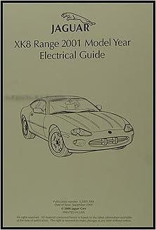 2001 jaguar xk8 electrical guide wiring diagram original: jaguar:  amazon com: books