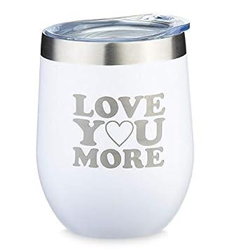 Amazon.com: Vasos de vino divertidos y románticos grabados ...