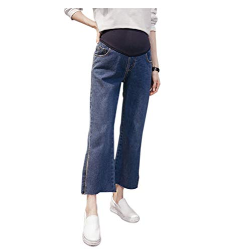 jeans Maternity elastico Deylaying donna 14 Pantaloni Pantaloni Stile in vita incinta con Z5007qT