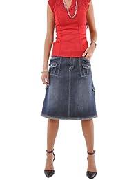Fabulous 'N Pockets Denim Skirt