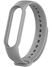 Strap Mi Band 4 silicone grey color