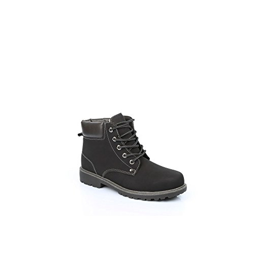 homme pour Noir Batista style Ideal Shoes Baskets Montagnard AnqtwxgRPg