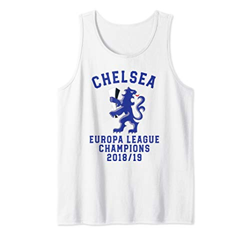 Chelsea Soccer Jersey Europa Champions Blues Gift Tank ()