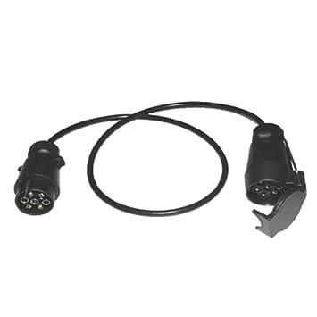 1,0m Verlängerungskabel Verlängerung Kabel Stecker/Kupplung 7-polig ...