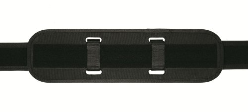 TUFF Duty Back Support with Extended Keepers (2 Extended Black Nylon Keepers, W ks with All Duty Belts)
