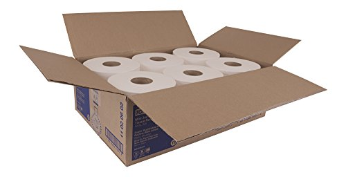 Tork Advanced 11020602 Soft Mini Jumbo Bath Tissue Roll, Perforated, 2-Ply, 7.36'' Diameter, 3.55'' Width x 8.38'' Length, White (Case of 12 Rolls, 1,075 per Roll, 12,900 Sheets) by Tork (Image #8)