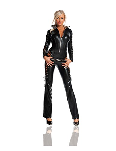 - Starline Women's Rebel Sexy Costume Set, Black, Large