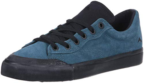 Emerica Men's Indicator Low Skate Shoe Teal/Black 11 Medium US