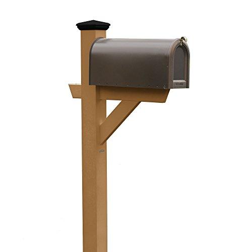 Highwood AD-MLBX1-TFE Hazelton Mailbox, Toffee