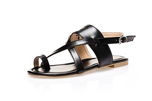 Grandi AIKAKA Donna da Black sandali 5wq0pBw