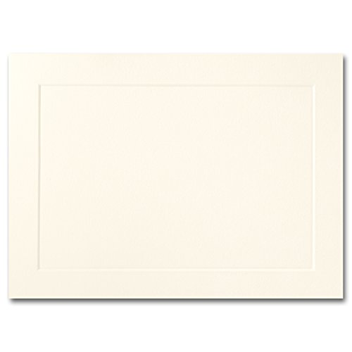 Fine Impressions A7-Fold-Over Panel Cards, 5-1/8