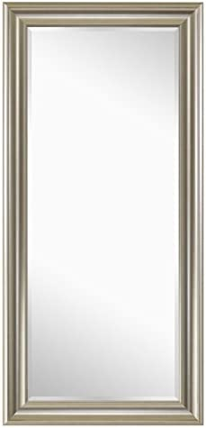 Naomi Home Framed Floor Mirror Champagne/65 x 31″