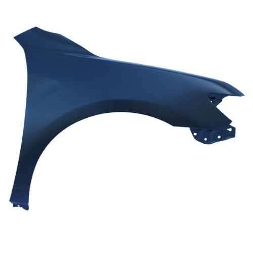 CarPartsDepot, Front Fender Right Passenger Side Unpainted Primered Black Steel, 371-44741-02 TO1241211 5380106110 ()