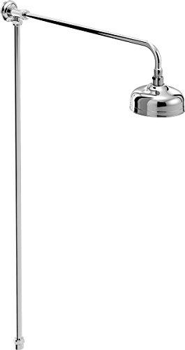 Bristan TRD RISE C Traditional Rigid Riser Shower Kit, Chrome