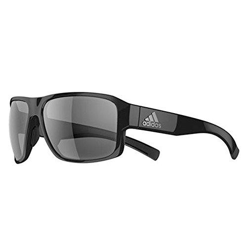 adidas Unisex-Adult Jaysor ad20 6050 Rectangular Sunglasses, black shiny, 60 mm (Sunglasses Men Adidas)