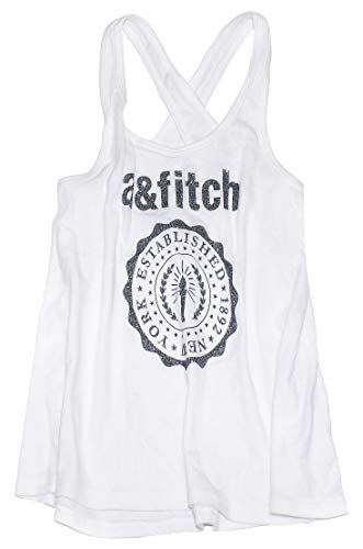 (Abercrombie & Fitch Girl's Lightweight Graphic Tank K-18 (X-Large, 0772-001))