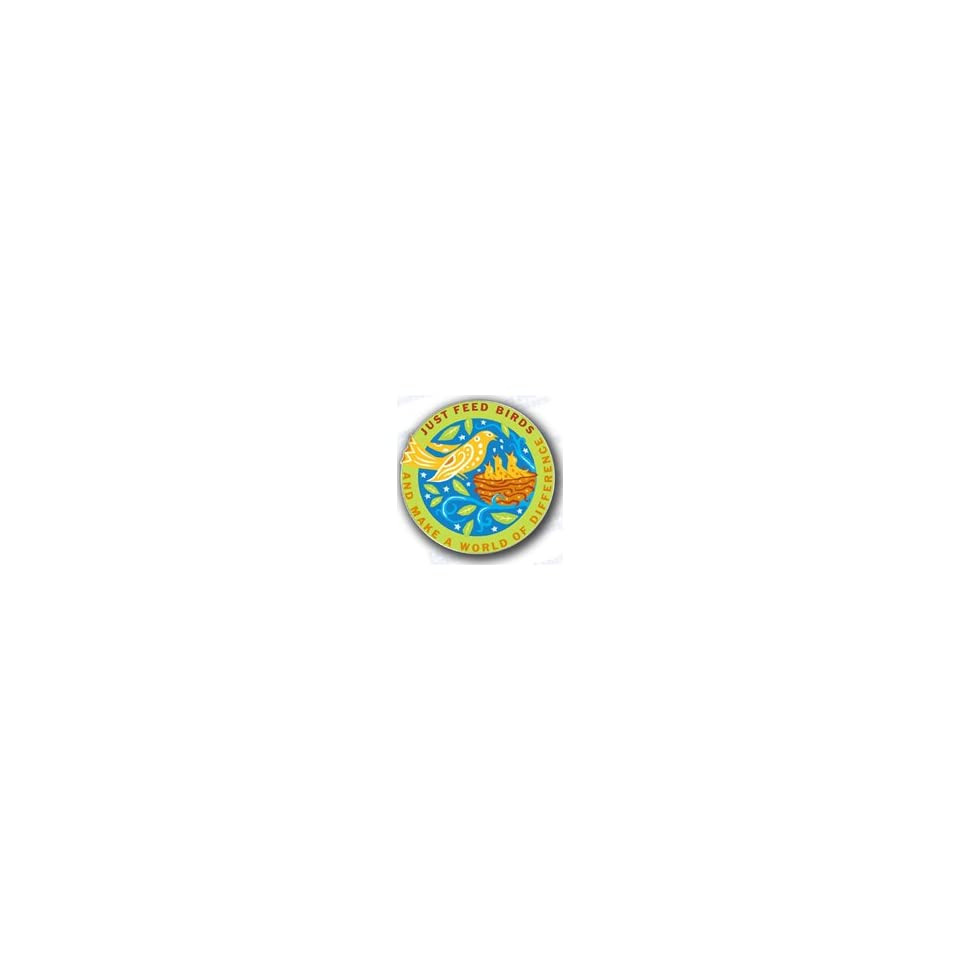 Droll Yankees Inc Sold Just Feed Birds Lapel Pin only