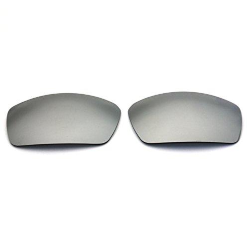 Polarized Replacement Sunglasses Lenses for Spy Optic Dirk - Silver - Lenses Spy Sunglass