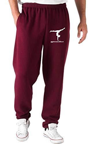 Dec0145 T shirtshock Rosso Ginnasta Tuta Ginnastica Pantaloni AwawqIF