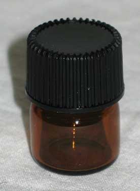.5dr Bottles Amber Round - Blackwood Dr