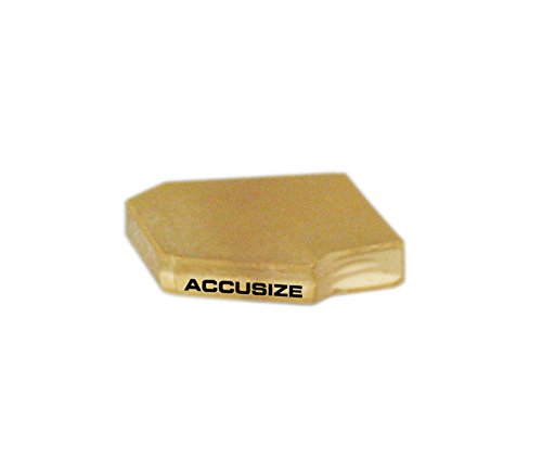 AccusizeTools - GTN-2, 0.160'' Width, Carbide Inserts TiN Coated 10 Pcs/Box, 0° Lead Angle, 2403-2003x10