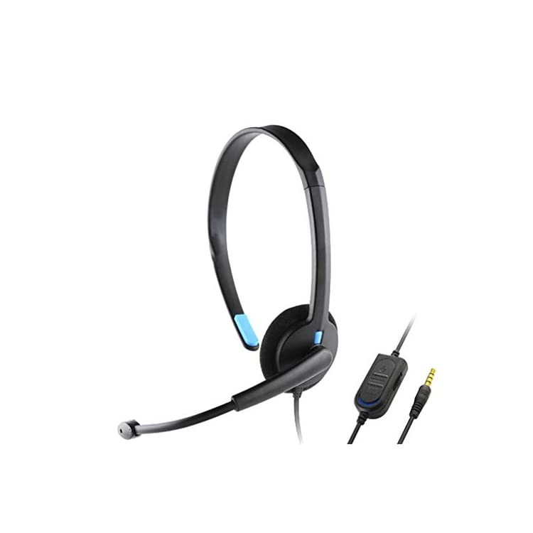 Hotaluyt Replacement for Playstation 4 PS4 X-ONE Over-ear Wired Earphone Headphones Gaming Headset PC Video Game Gamer