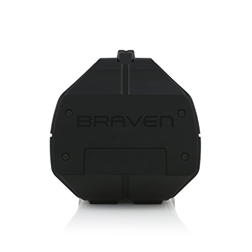 BRAVEN BRV-XXL Large Portable Wireless Bluetooth Speaker [Waterproof][Outdoor] Built-In 15,600mAh Power Bank USB Charger - Black / Titanium by Braven (Image #5)