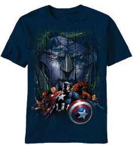 with The Avengers T-Shirts design
